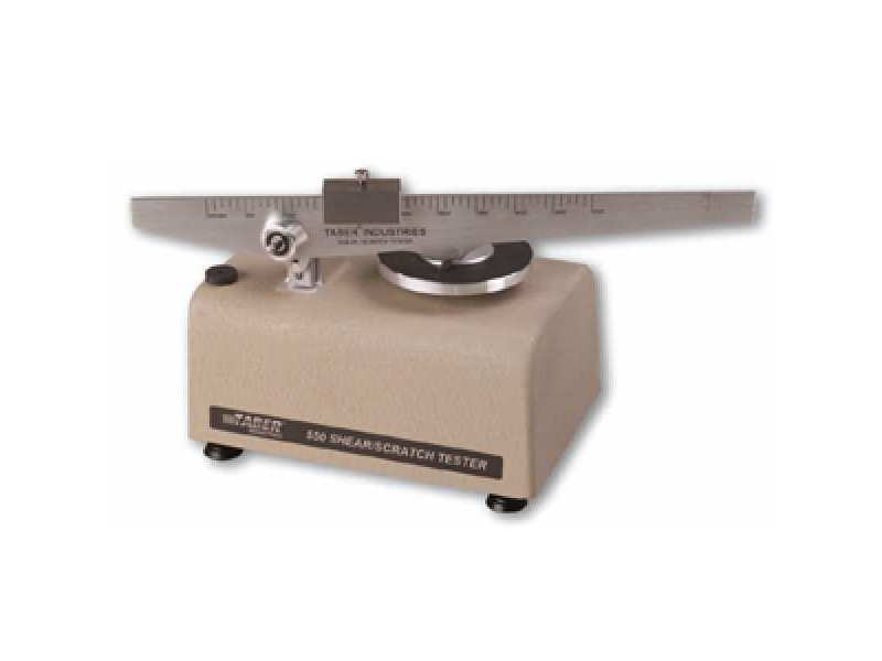 Taber Shear / Scratch Tester Accessories