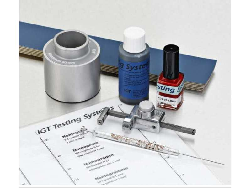 IGT Roughness Test Solution & Lacquer